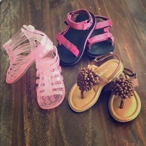 Other - 3 pair of toddler sandals